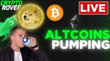 ALTCOINS CONTINUE TO PUMP! BUT WHAT ABOUT BITCOIN??
