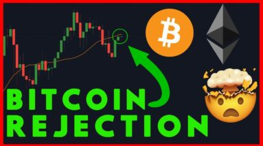 BITCOIN DECISION TIME IS HERE! REJECTION FROM THE 20D!!