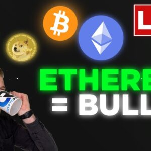 EHTEREUM CONTINUES TO RISE!! BITCOIN MASSIVE MOVE IMMINEMT
