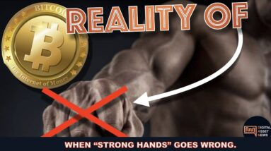 SHOULD YOU HODL BITCOIN & CRYPTO AT ALL COSTS WITH STRONG HANDS?