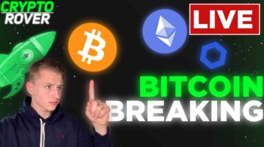 BITCOIN BREAKES CRITICAL RESISTANCE!! $61.5k IMMINEMT!!!