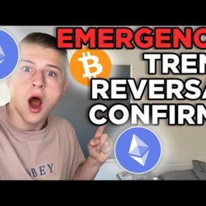 EMEREGENCY: BITCOIN AND ETHEREUM TREND REVERSAL!!! W PATTERN ON BTC & ETH SIGNALS A $50K+ BTC!!!!!!!