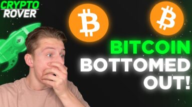 BITCOIN BOTTOMED OUT! Key Reasons Why The Bull Market IS NOT OVER🚀🚀