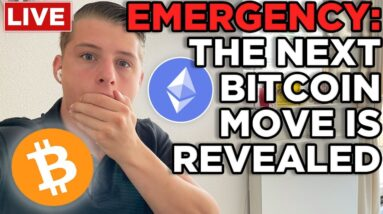EMERGENCY: BITCOIN RE-ENTERED THE SYMMETRICAL TRIANGLE!!! ETHEREUM & BITCOIN PRICE PREDICTION!!