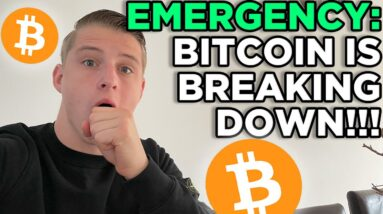 LOOK OUT! BITCOIN BREAKING DOWN OF THE SYMMETRICAL TRIANGLE!! BITCOIN PRICE PREDICTION 2021...