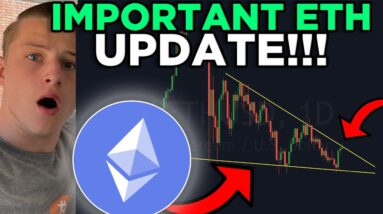 ETHEREUM HOLDERS MUST SEE THIS! ETHEREUM BEARISH DIVERGENCE & BREAK OUT VERY CLOSE!