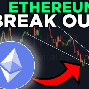 HUGE! ETHEREUM BREAKS OUT OF THE FALLING WEDGE!!! THIS IS HUGE!