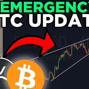 RISING WEDGE BREAK DOWN RIGHT NOW?? BITCOIN BREAKING RIGHT NOW!!!