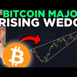 THIS BITCOIN PATTERN WILL SHOCK EVERYONE!!!! [rising wedge]