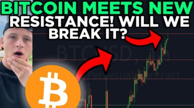 BITCOIN IS ABSOLUTELY EXPLODING!!! + FIBONACCI RETEST RIGHT NOW!