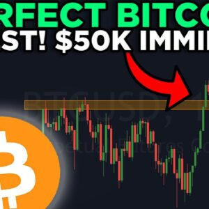 BITCOIN PERFECT RETEST!! $50K INCOMING RIGHT NOW!!!!!!