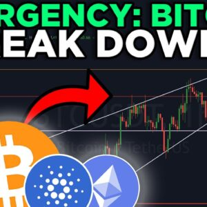 EMERGENCY: BITCOIN BREAKING DOWN RIGHT NOW!!!! [must see]