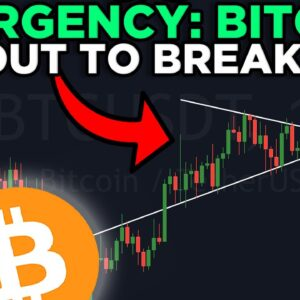 EMERGENCY: THIS BITCOIN PATTERN IS ABOUT TO BREAK OUT!!!!