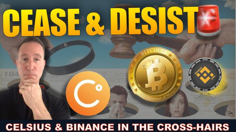 GOVERNMENT SLAPS CELSIUS WITH CEASE & DESIST & RECORD ETH OUTFLOWS!