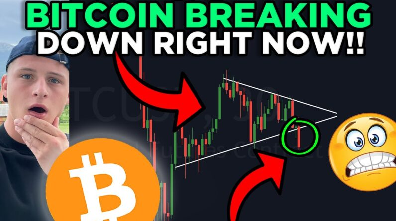 IMPORTANT!!! BITCOIN SYMMETRICAL TRIANGLE ABOUT TO BREAK OUT!!