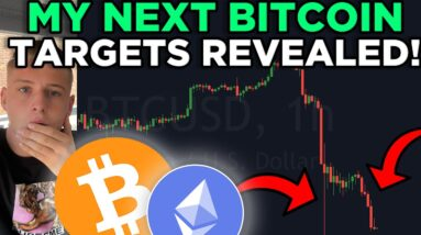 IS THE BITCOIN DUMP OVER? MY NEW SWING TRADE REVEALED!!