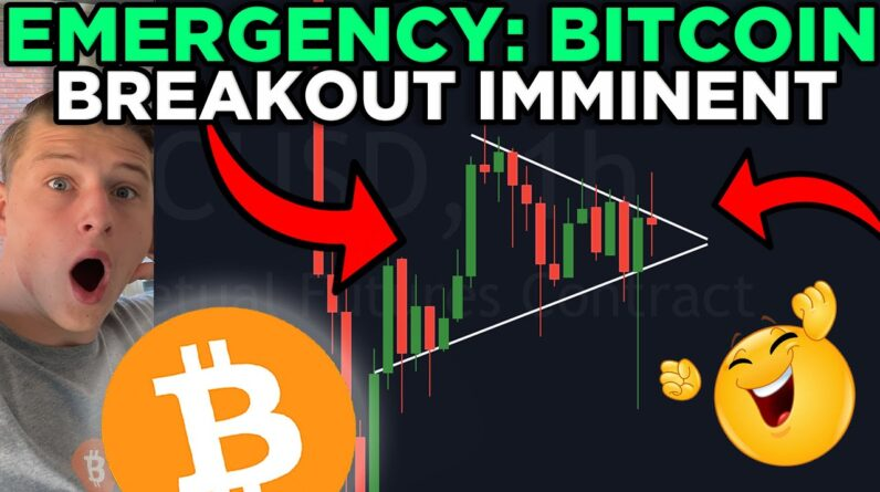 EMERGENCY: BITCOIN EXTREME TIME RELATED UPDATE!!!!!! BITCOIN ABOUT TO CREATE A HUGE MOVE!