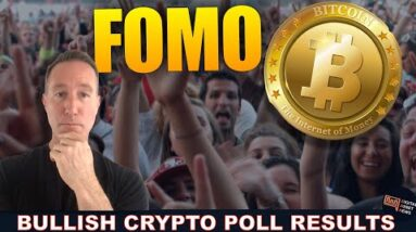 NEW POLLS REVEAL PEOPLE WANT CRYPTO BADLY. FOMO IN 3...2...1...