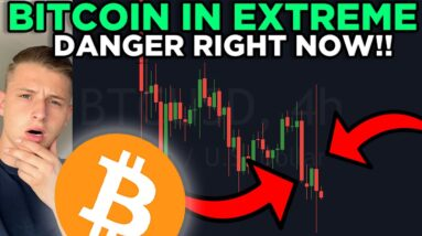 BITCOIN IN EXTREME DANGER RIGHT NOW!!! MAJOR LONG TRADE OPPORTUNITY RIGHT NOW!!!