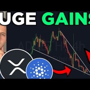 HUGE RIPPLE [XRP] & CARDANO PRICE PREDICTION!!! YOU WILL BE CHOCKED BY THESE PATTERNS!