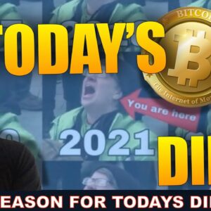 REASON FOR TODAYS CRYPTO DIP IS A GOLDEN OPPORTUNITY.