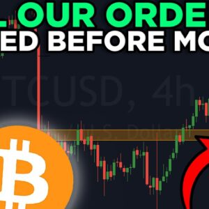 THIS IS LAST CORRECTION BEFORE WE MOON!! BITCOIN LIVE ANALYSIS