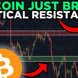 IMPORTANT!! BITCOIN JUST BROKE THE MOST IMPORTANT RESISTANCE!!! $50K WILL BE IMMINENT!!!