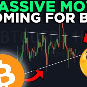 MASSIVE BITCOIN PRICE MOVE INCOMING!!! DON'T MISS THIS TRADE OPPORTUNITY!!!!!