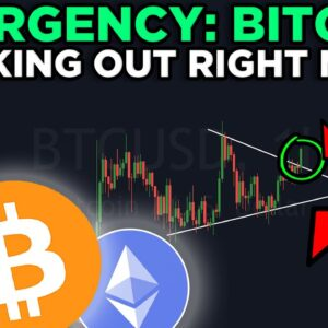 NEW BITCOIN & ETHEREUM PATTERN IS ABOUT TO BREAK OUT!!! CHECK IT NOW!!!!